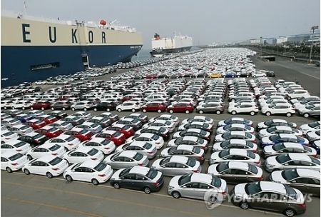 ゴミ鉄屑を輸出しているバ韓国