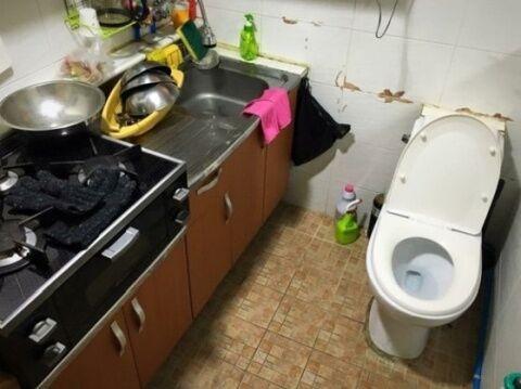バ韓国料理の隠し味は糞尿の飛沫物