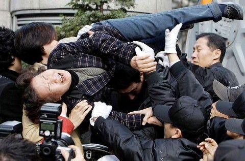 バ韓国塵は生まれつき感情の抑制ができない
