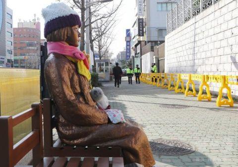 売春婦問題の合意を破棄したバ韓国政府
