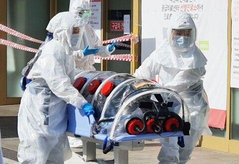 大邱コロナの集団感染が止まらないバ韓国