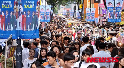 放射線と悪臭ただようソウルの街を観光とかwww