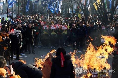 放火せずにいられないバ韓国塵どもに死を!