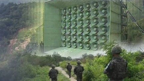 バ韓国が拡声器放送を電撃中断