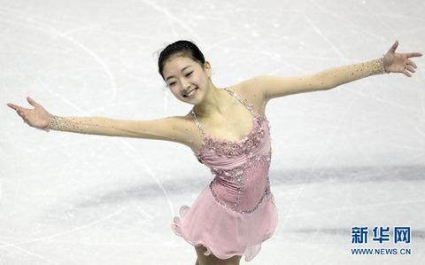 中国フィギュアスケート女子選手の李子君
