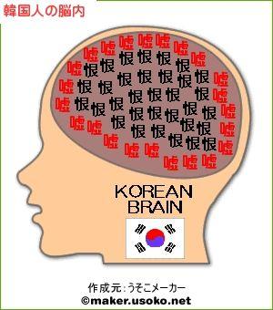 韓国人は人類ではないのです!