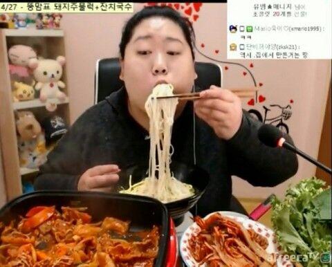 バ韓国。モクバン動画はただのグロ!