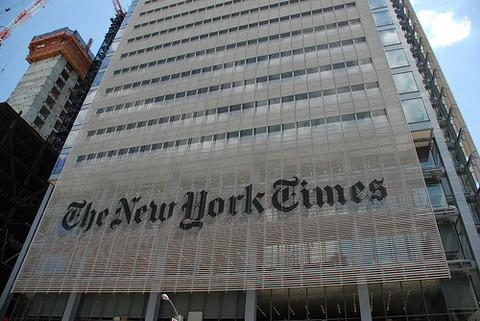 在米韓国人の汚染が著しいニューヨークタイムズ