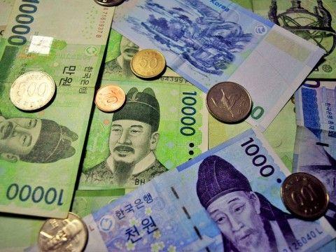 国際的な価値は便所紙以下のバ韓国ウォン