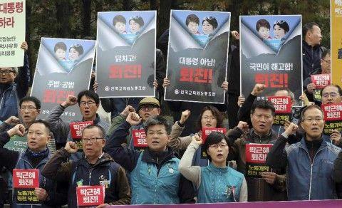 パククネ弾劾で慰謝料を請求するのがバ韓国塵
