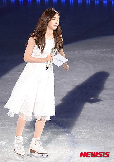 八百長の女王・キモヨナがアイスショーに登場