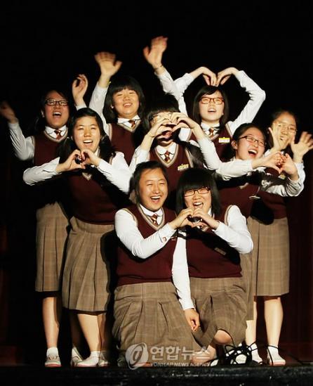 バ韓国の平均的なJK、絶望的wwww