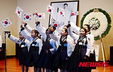 キチガイ教育に余念の無いバ韓国