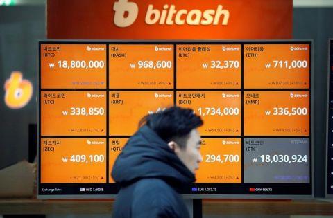 仮想通貨の下落でバ韓国塵が自殺