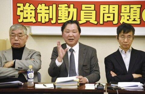 日本とバ韓国の弁護士が同時記者会見だと?
