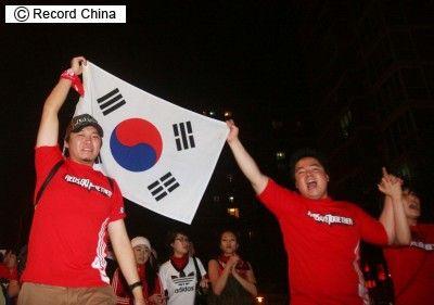 日本の敗戦に大喜びしていた屑韓国サポーター