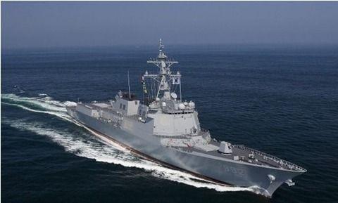 海に浮かぶただのゴミ屑イージス駆逐艦・栗谷李珥