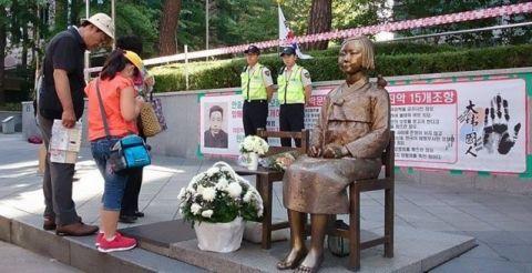 売春婦像がソウル市に管理されることとなる