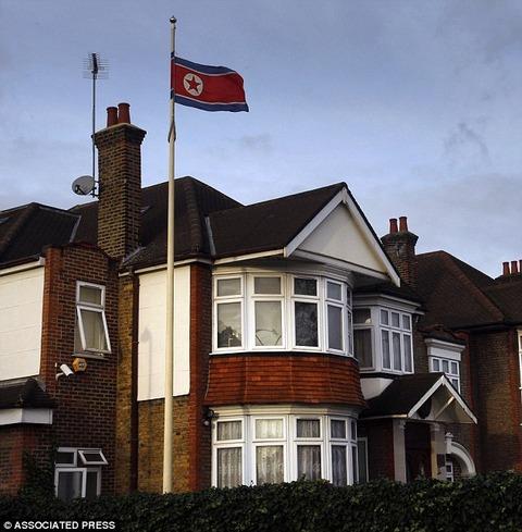 英国の北チョン大使館