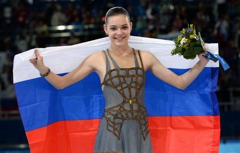 2014年ソチオリンピック金メダリストのソトニコワ