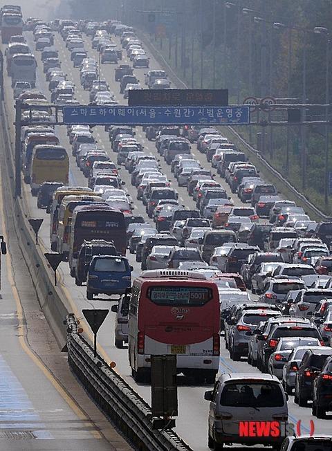 屑チョンどもの渋滞は人糞臭がむんむん