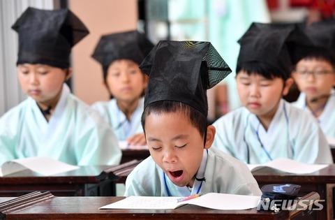 バ韓国塵の子供の醜さは世界随一