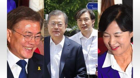 バ韓国の法相は犯罪者じゃないとなれない