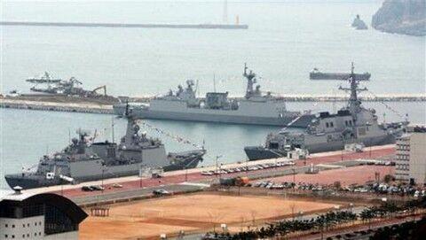 誰でも出入り自由なバ韓国の済州海軍基地