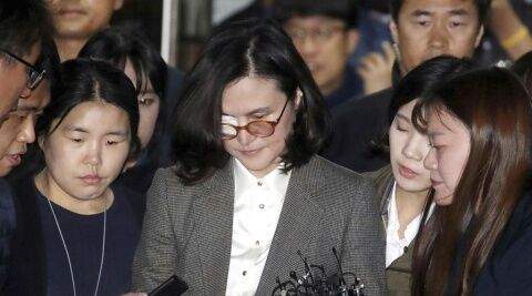 バ韓国チョ・グクの妻であるチョン・ギョンシム