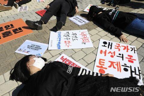 バ韓国の堕胎率はOECD堂々の1位