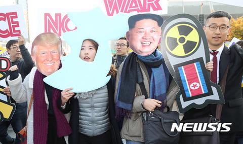 反米デモが盛んなバ韓国
