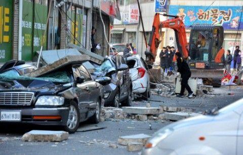 2017年11月に発生したバ韓国・浦項地震