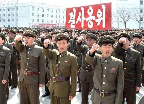 北チョンの兵士はバ韓国塵をロコしまくれ