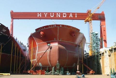 赤字を出すために存在しているバ韓国の造船業