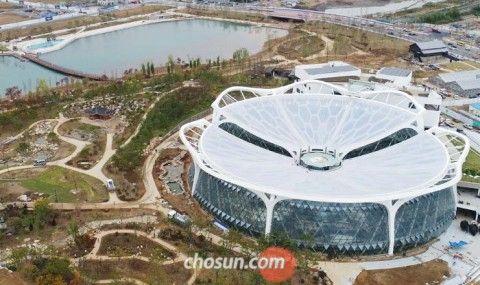 バ韓国・ソウルにオープン予定の植物園