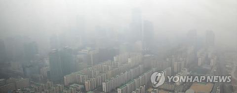 ソウルの大気汚染はもはや人外のレベル