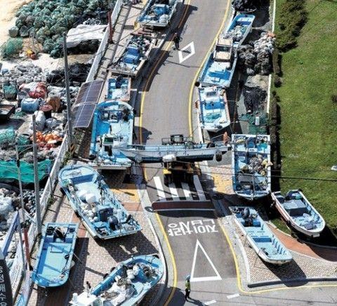 台風25号がバ韓国にも上陸