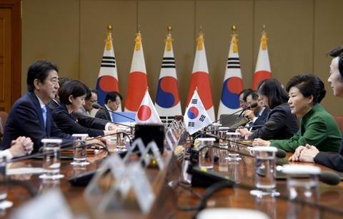 オフレコの内容まで明らかになった日韓首脳会談