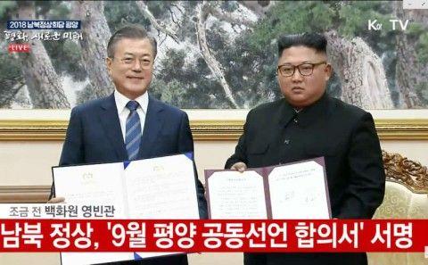 バ韓国と北朝鮮の合意事項、ほとんど履行されず
