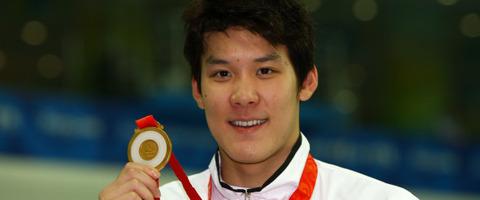 エラ呼吸が上手そうなバ韓国の競泳選手・朴泰桓