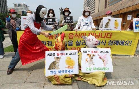バ韓国・ソウルで行われたキチガイイベント