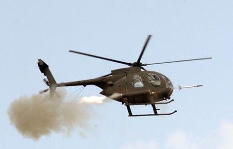 幽霊会社の部品を使用しているバ韓国軍のヘリ