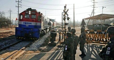 南北鉄道連結事業に力を入れるバ韓国