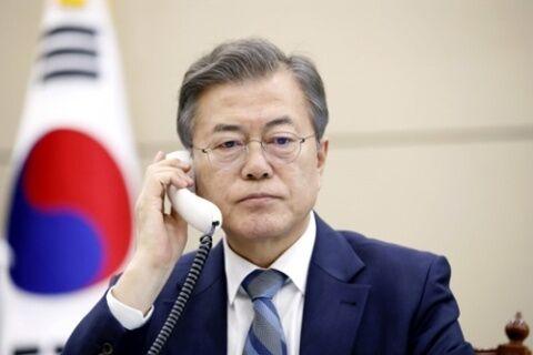 引き籠りが判明したバ韓国の文在寅