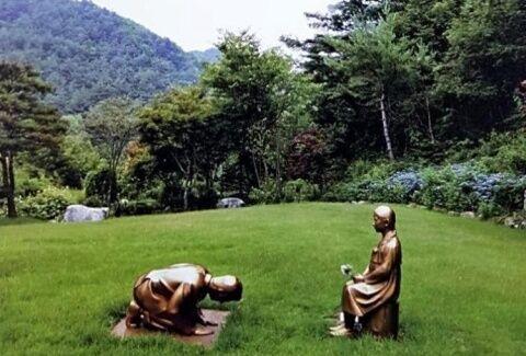 バ韓国の観光地はキチガイ専用