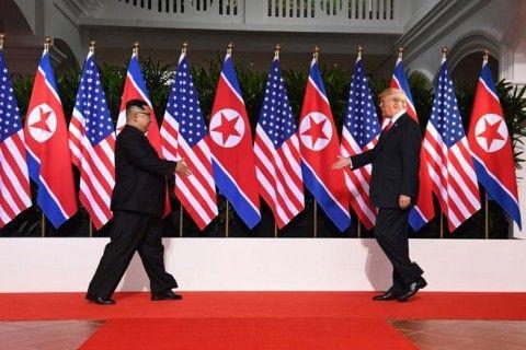 米朝首脳会談後に、トランプ氏が爆弾発言