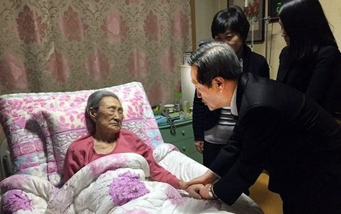 偽人に選ばれたバ韓国の害獣婆