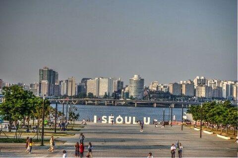 バ韓国の汝矣島公園に屑チョンどもが大量集結