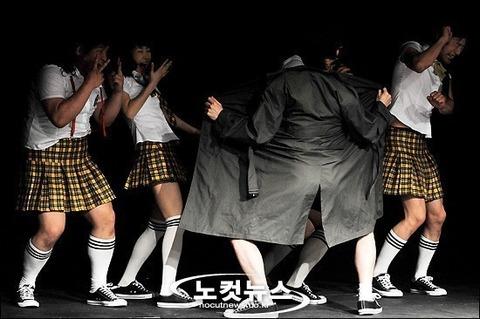 韓国のアチコチで発生するバーバリーマン