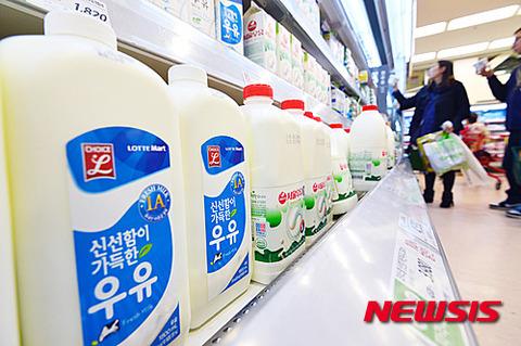人類には飲用不可能なバ韓国産牛乳